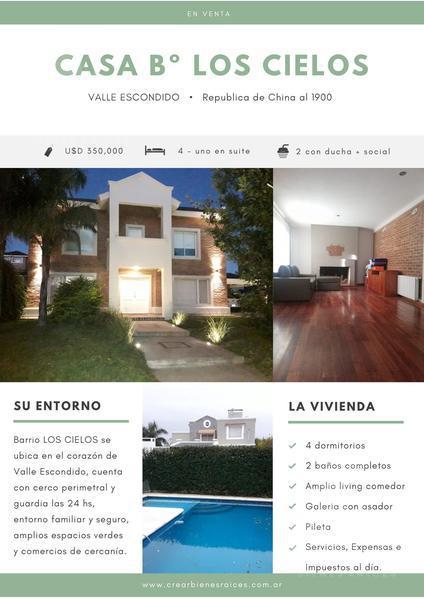 Foto Casa en Venta en  Los Cielos,  Valle Escondido  Lote 21 Manzana 51