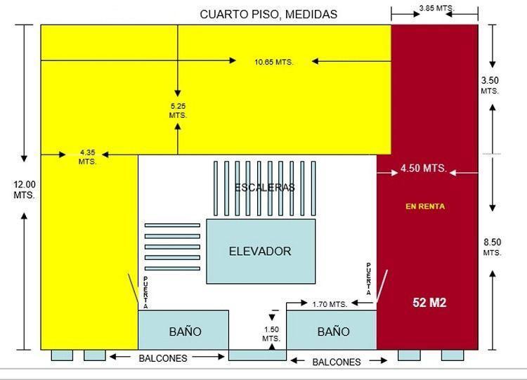 Foto Oficina en Renta en  Polanco,  Miguel Hidalgo  SKG Renta Oficina de 52 m2 Torcuato Tasso, Polanco