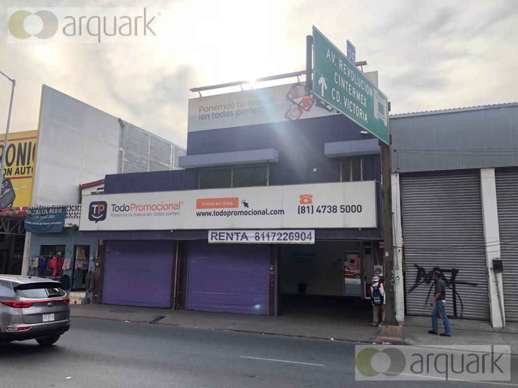 Foto Bodega en Renta en  Centro,  Monterrey  Renta local comercial  con bodega, sobre Felix U. Gómez