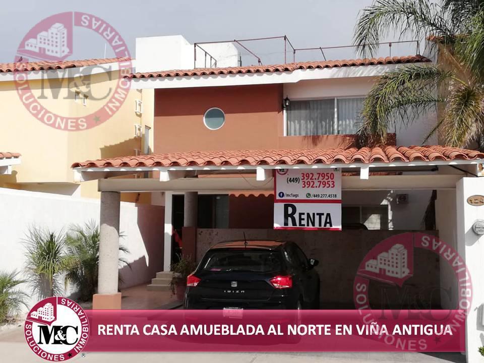 Foto Casa en Renta en  Fraccionamiento Viña Antigua,  Jesús María  MC RENTA CASA AMUEBLADA EN VIÑA ANTIGUA