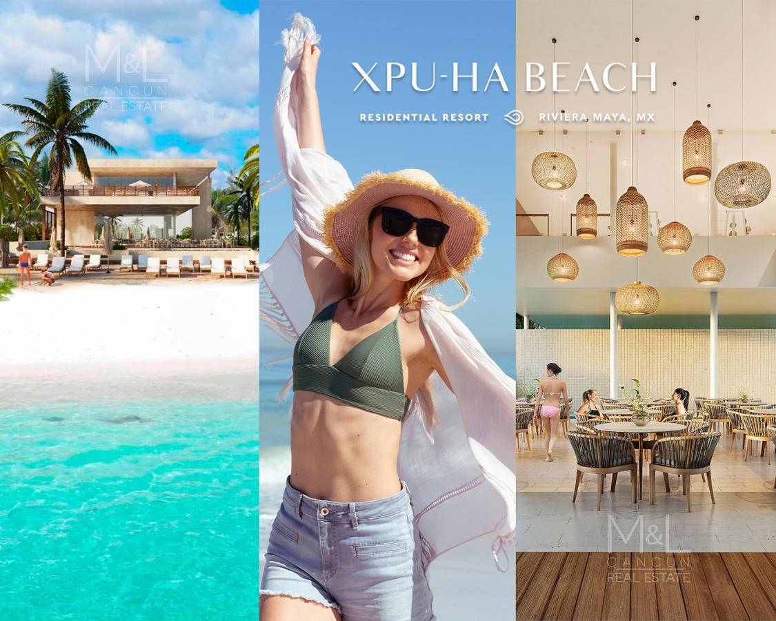 Foto Terreno en Venta en  Xpu Ha,  Solidaridad  Terreno en Venta XPU-HA BEACH ARRECIFE  617 m2,  con Club de Playa en Riviera Maya