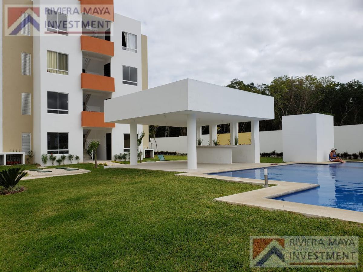Foto Departamento en Renta en  Solidaridad ,  Quintana Roo  Privada Kantenah