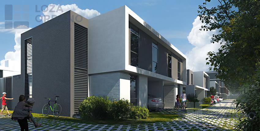 Foto Casa en Venta en  Docta,  Cordoba Capital  Housing de Boulevar. ( CASAS 2 Y 3 Dormitorios).-