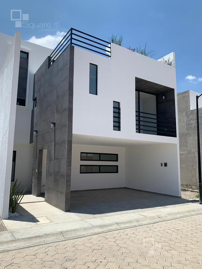 Foto Casa en Venta en  Unidad habitacional Momoxpan,  San Andrés Cholula  Casa en Venta en Oliva Residencial, La Carcaña, San Andrés Cholula