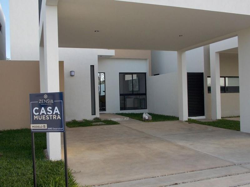 Foto Casa en condominio en Venta en  Conkal ,  Yucatán  Casa en Privada Zensia (Mod.B) Conkal, Mérida Yucatán