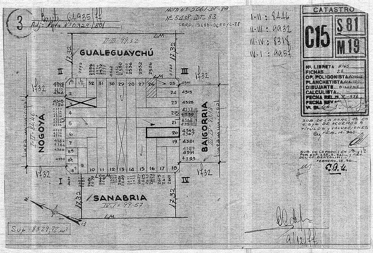 Foto Terreno en Venta en  Villa Devoto ,  Capital Federal  SANABRIA al 2600