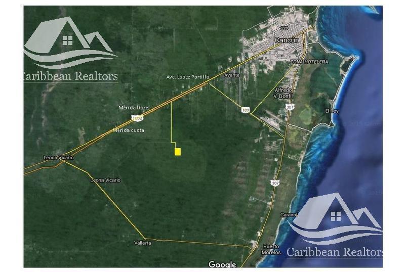 Foto Terreno en Venta en  Cancún ,  Quintana Roo  Terreno en Venta en Cancún/Aeropuerto