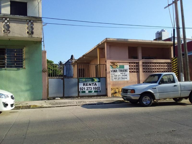 Foto Terreno en Renta en  Puerto México,  Coatzacoalcos  TERRENO 415 MTS COL. PTO MEXICO