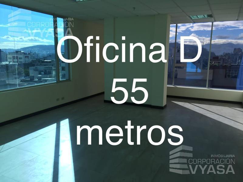 Foto Oficina en Venta en  Rumipamba,  Quito      MARIANA DE JESÚS - OFICINA POR ESTRENAR DE 55 M2