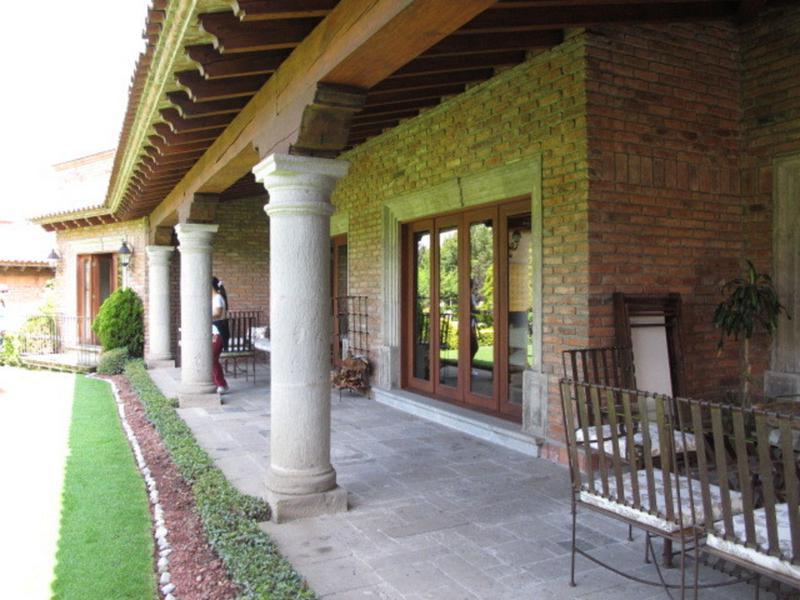Foto Casa en Renta en  Club de Golf los Encinos,  Lerma  RESIDENCIA ESTILO COLONIAL CLUB DE GOLF LOS ENCINOS SHCAT 1021