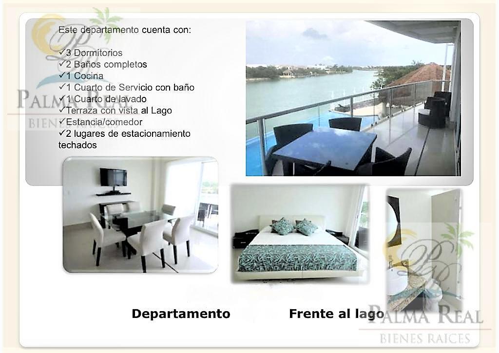 Foto Casa en Renta en  Lagos del Sol,  Cancún  PRECIOSO APARTAMENTO CON BALCON Y VISTA A PISCINA