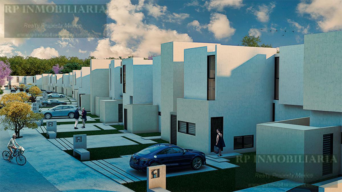 Foto Casa en condominio en Venta en  Mérida ,  Yucatán  CASAS DE 2 RECAMARAS EN VENTA EN CONKAL, AL NORTE DE MERIDA ZENSIA PARQUE RESIDENCIAL