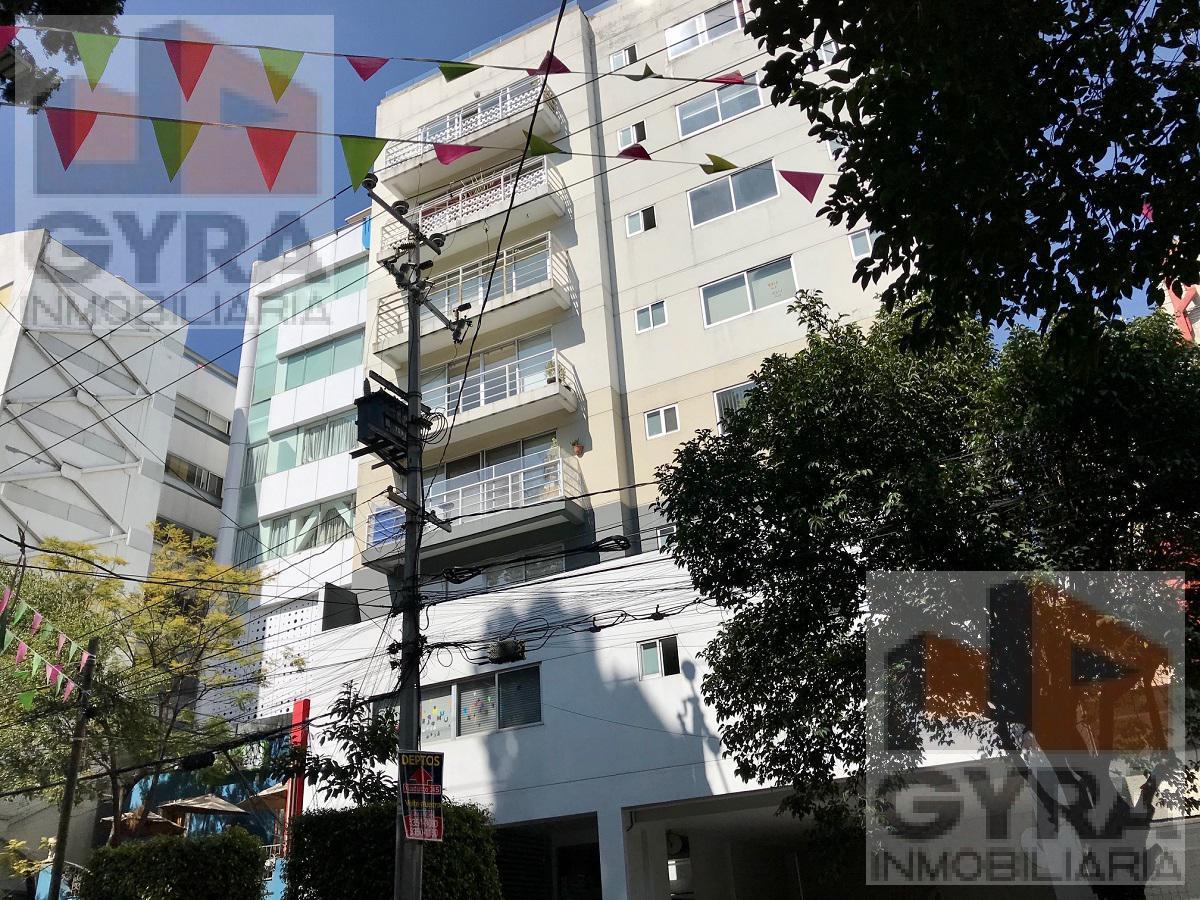 Foto Departamento en Renta en  Roma Sur,  Cuauhtémoc  Departamento en Renta con balcón, Tehuantepec, Roma Sur.