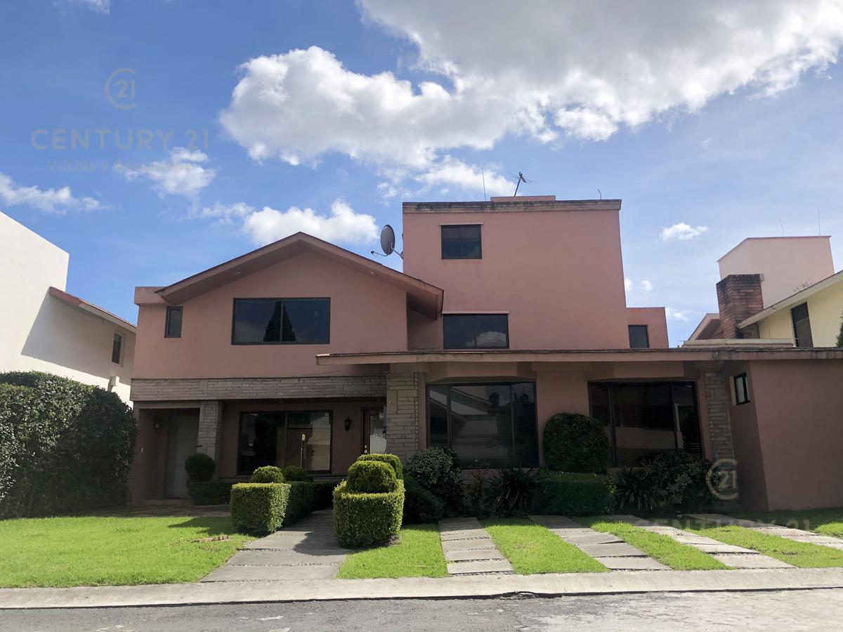 Foto Casa en condominio en Venta en  San Francisco Coaxusco,  Metepec  PRECIOSA RESIDENCIA EN FRACCIONAMIENTO LA JOLLA