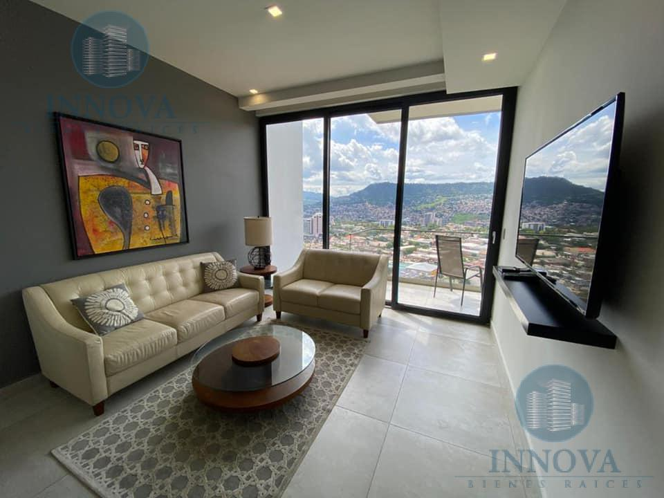 Foto Terreno en Renta en  La Cumbre,  Tegucigalpa  Apartamento Completamente Amueblado de 1 Habitación  Torre Aria Tegucigalpa