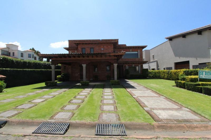 Foto Casa en Renta en  Club de Golf los Encinos,  Lerma  Los Encinos Lerma, Estado  México, Residencia en Renta