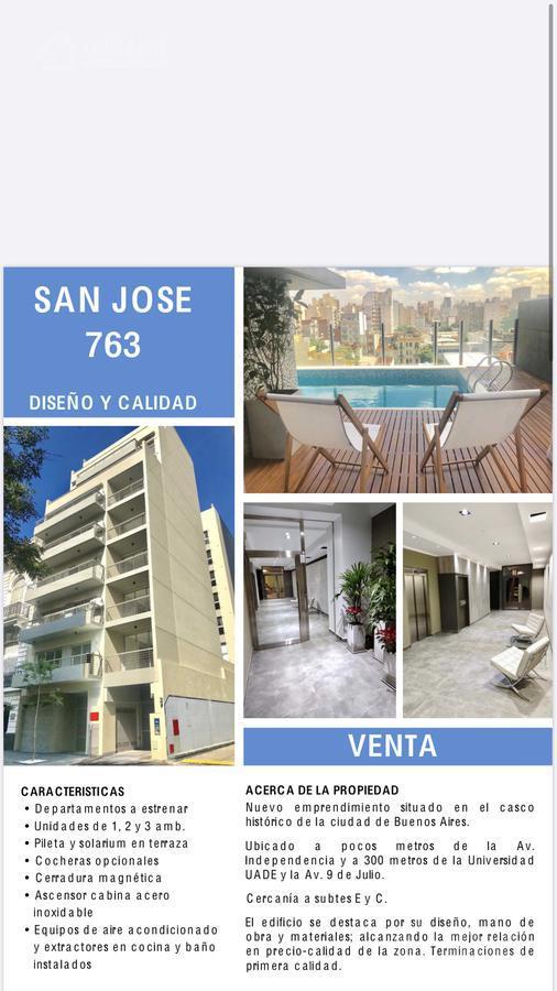 Foto Departamento en Venta en  Monserrat,  Centro (Capital Federal)  San Jose al 700