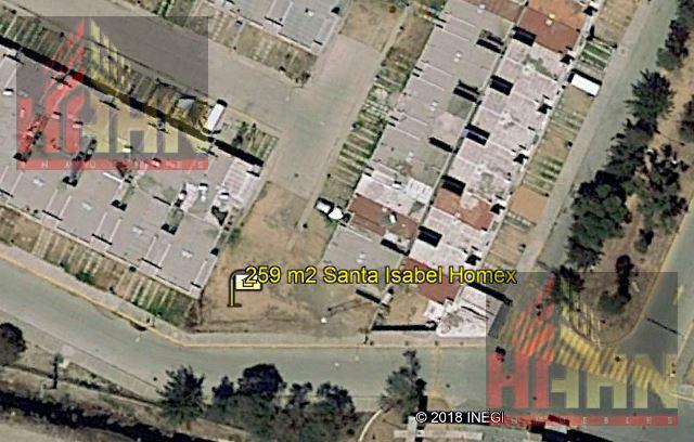 Foto Terreno en Venta en  Santa Isabel,  Zumpango  SANTA ISABEL, TERRENO CONJUNTO HABITACIONAL, VENTA, ZUMPANGO, ESTADO DE MEXICO.
