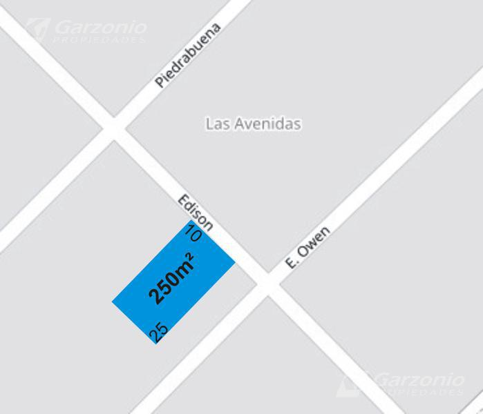 Foto Terreno en Venta en  Trelew ,  Chubut  Lote en cuotas sobre calle Edison e/ Owen y Piedrabuena