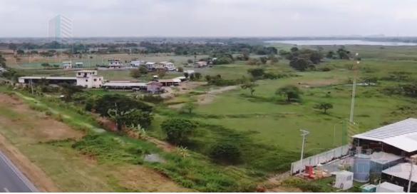 Foto Terreno en Venta en  Sur de Yaguachi,  Yaguachi  VENTA TERRENO INDUSTRIAL PAN, Puente Alterno Norte