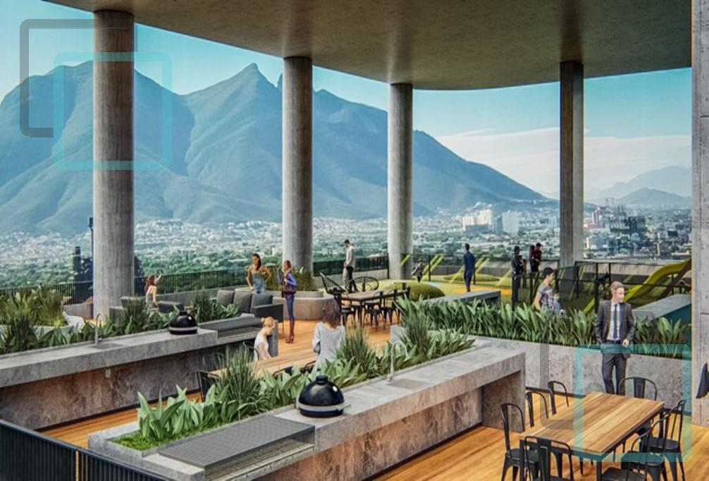 Foto Departamento en Venta en  Monterrey ,  Nuevo León  DEPARTAMENTO EN VENTA EN EL CENTRO DE MONTERREY