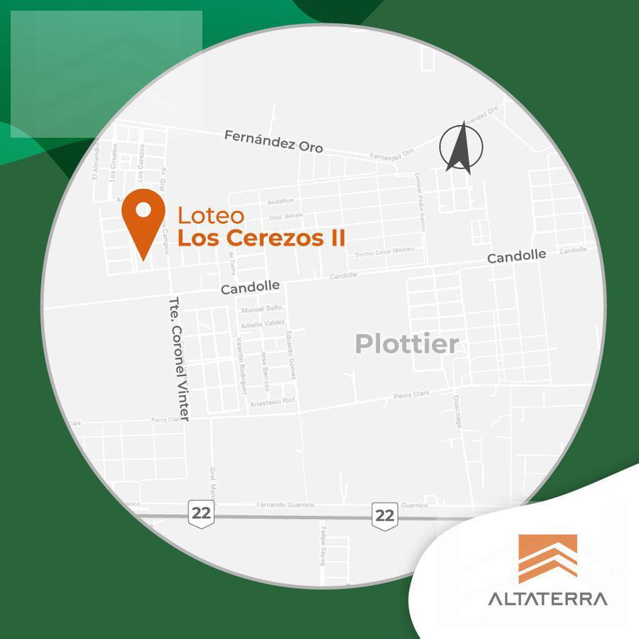 Foto Terreno en Venta en  Plottier,  Confluencia       Terrenos en Plottier Loteo Los Cerezos II