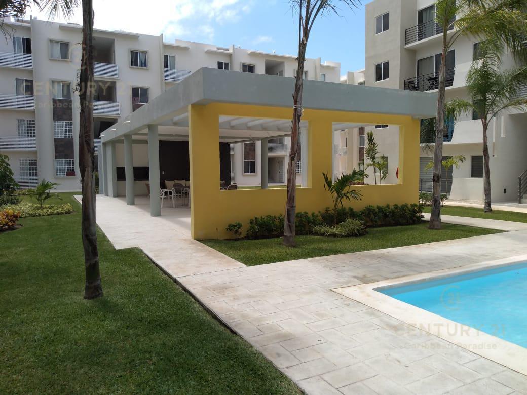 Foto Departamento en Renta en  Solidaridad,  Playa del Carmen  En renta departamento a estrenar en Paseo de los Olivos, Privada Reforma, Playa del Carmen P2685