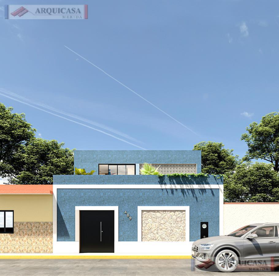 """Foto Casa en Venta en  Mérida Centro,  Mérida  CENTRO, BARRIO SANTIAGO  """" CASA AHAL"""" EN REMODELACIÓN."""