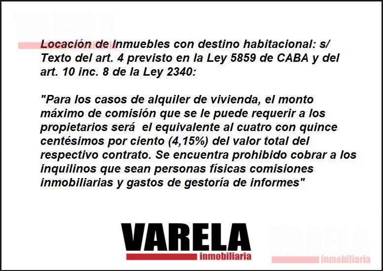 Foto Departamento en Alquiler en  Belgrano ,  Capital Federal  Zabala 2400