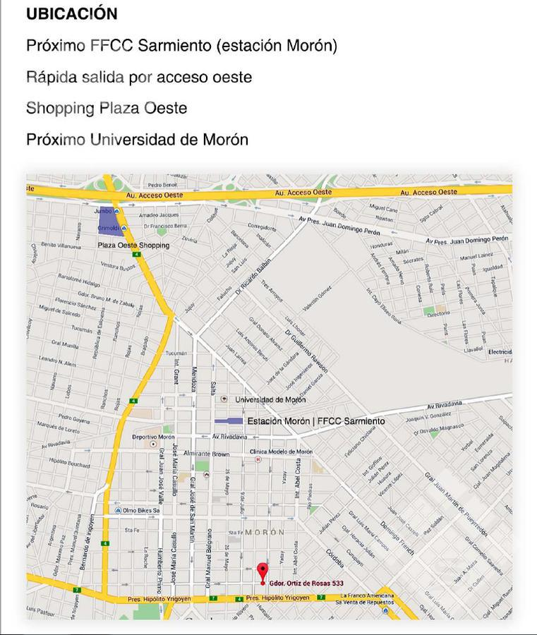 Foto Departamento en Venta en  Moron,  Moron  Ortiz de Rosas 500 UF 7°B