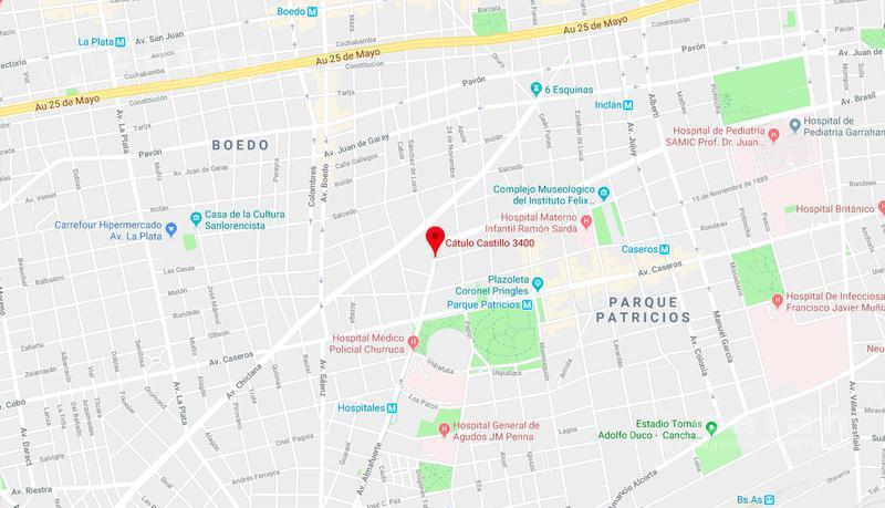 Foto Depósito en Venta en  Parque Patricios ,  Capital Federal  Catulo Castillo al 2400
