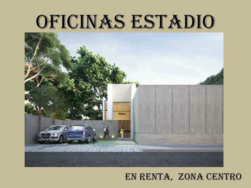 Foto Oficina en Renta en  Merida Centro,  Mérida  OFICINAS ESTADIO