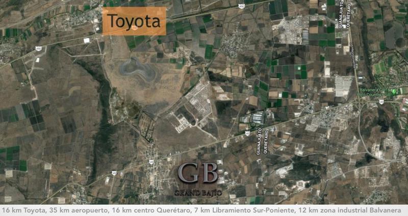 Foto Terreno en Venta en  Ejido San Juan del Llanito,  Apaseo el Alto  Terreno Industrial Venta Parque Grand Bajío $2'450,000 Priher EQG1