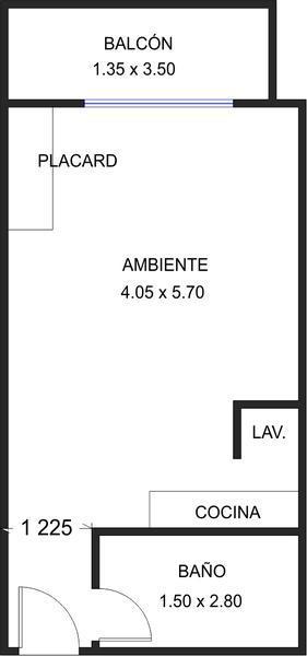 Foto Departamento en Venta en  Coghlan ,  Capital Federal  Rómulo Naón al 3500