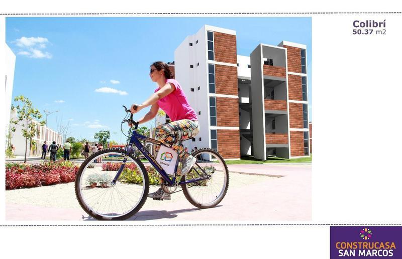 Foto Departamento en Venta en  San Marcos Nocoh,  Mérida  San Marcos Colibrí Departamentos