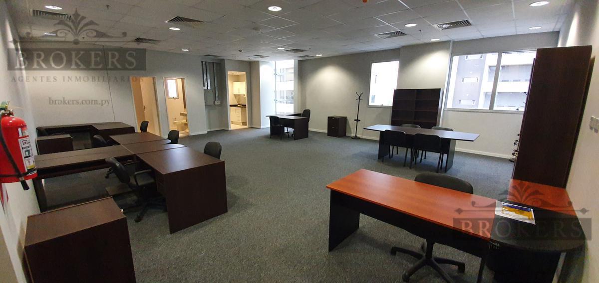 Foto Oficina en Alquiler | Venta en  Ykua Sati,  La Recoleta  Vendo o Alquilo Oficina De 94 M2 Con Muebles En El Wtc Asunción