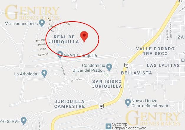 Foto Terreno en Venta en  Fraccionamiento Real de Juriquilla,  Querétaro  LOTE RESIDENCIAL EN VENTA GRAND JURIQUILLA