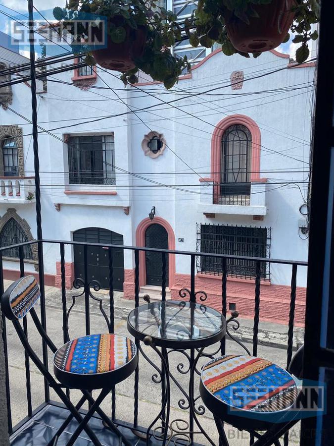 Foto Departamento en Renta en  Cuauhtemoc ,  Ciudad de Mexico  Suite  en Renta en Cosalá #15,  LA CONDESA, , CDMX.