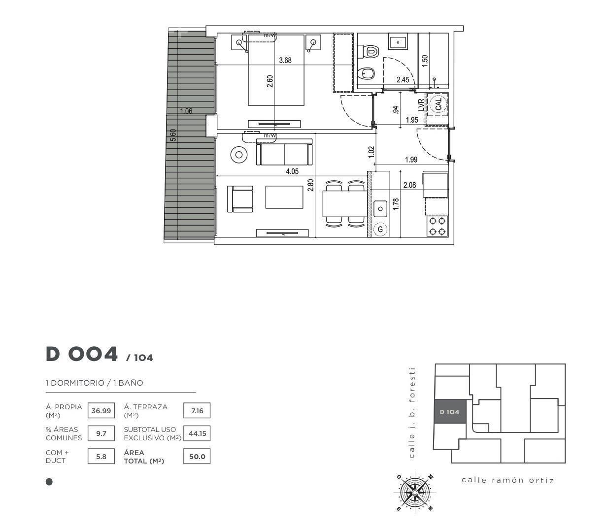 Departamento-Venta-Montevideo-Calidad y diseño en el pulmón de Montevideo