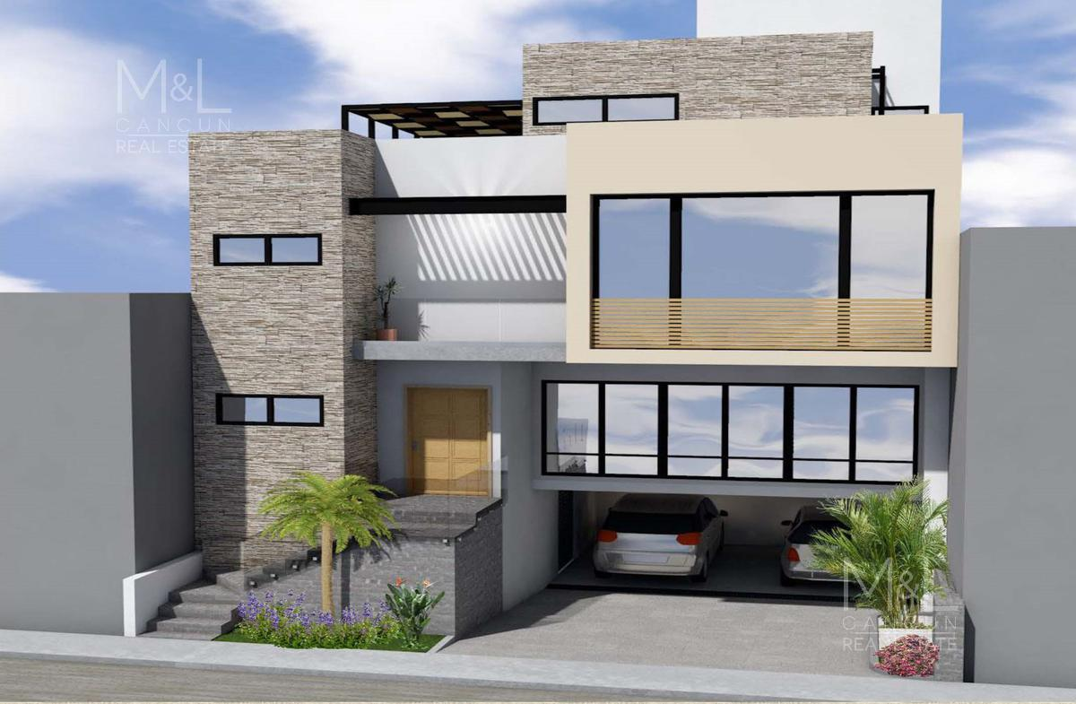 Foto Casa en Venta en  Puerto Cancún,  Cancún  CASA EN VENTA EN CANCUN, PUERTO CANCUN DE 4 RECAMARAS, LAGUNA I