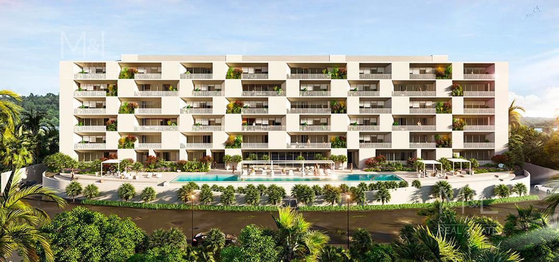 Foto Departamento en Venta en  Ciudad de Cancún,  Cancún  Departamento en Venta en Cancún,  ALESSIA, Garden de 3 recámaras, en Río Residencial, de Grupo Cumbres