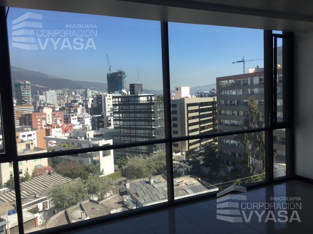 Foto Oficina en Alquiler en  Norte de Quito,  Quito  Bellavista - Av. Eloy Alfaro, Oficina de 275,00 m2 - Piso No. 7