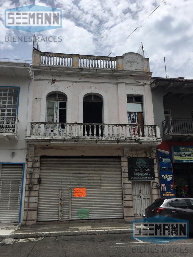 Foto Local en Renta en  Veracruz Centro,  Veracruz  Av. 5 de Mayo # 1446 entre Arista y Esteban Morales, Col. Centro, Veracruz, Ver.