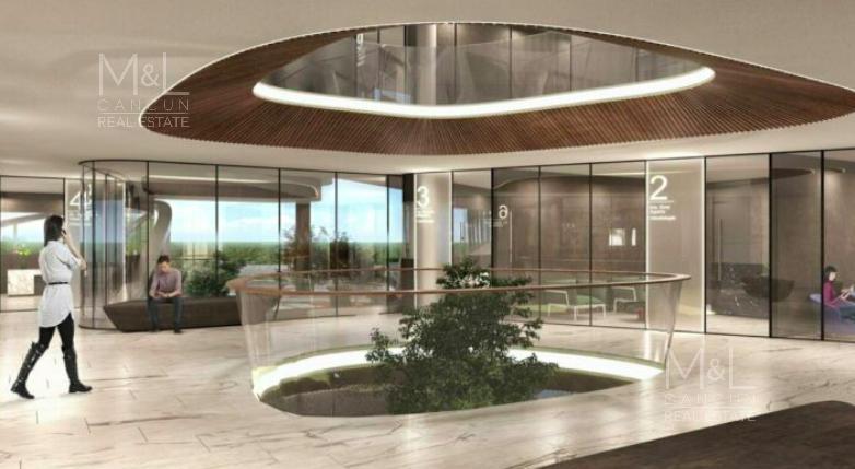 Foto Oficina en Venta en  Puerto Cancún,  Cancún  Consultorio médico en venta en Cancún, LUXIMIAMED, de 49.50 m2 en Puerto Cancún