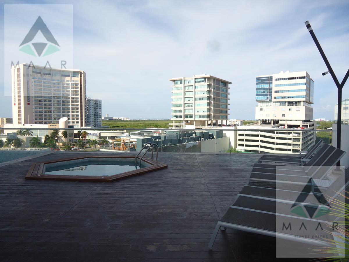 Foto Departamento en Renta en  Las Americas,  Cancún  Se Renta Departamento en Cancun Semi-Amueblado en Torre New York Malecón Américas