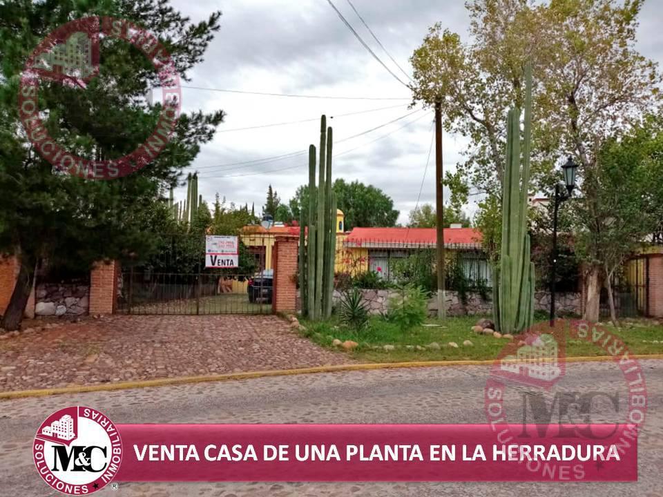 Foto Casa en Venta en  Fraccionamiento Campestre La Herradura,  Aguascalientes  VENTA CASA DE UNA PLANTA EN CAMPESTRE LA HERRADURA