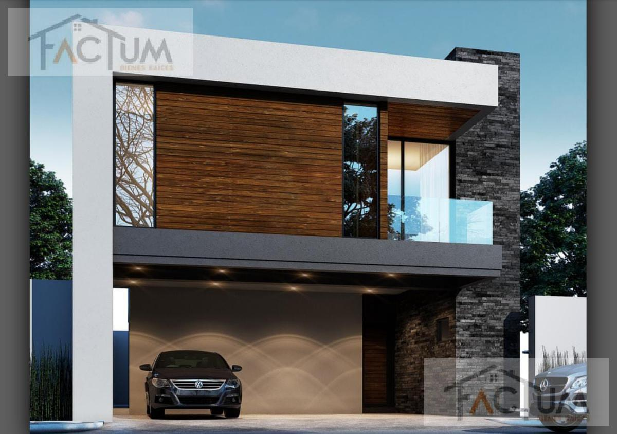 Foto Casa en Venta en  Monterrey ,  Nuevo León  Bosques de Vistancia, Calle Cerro de las Mitras, lote 49