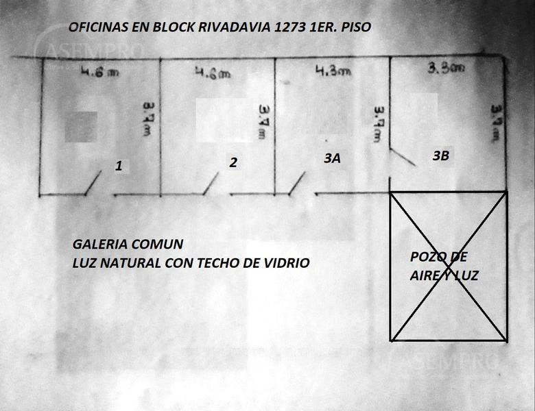 Foto Oficina en Venta en  San Nicolas,  Centro  Av. Rivadavia al 1200