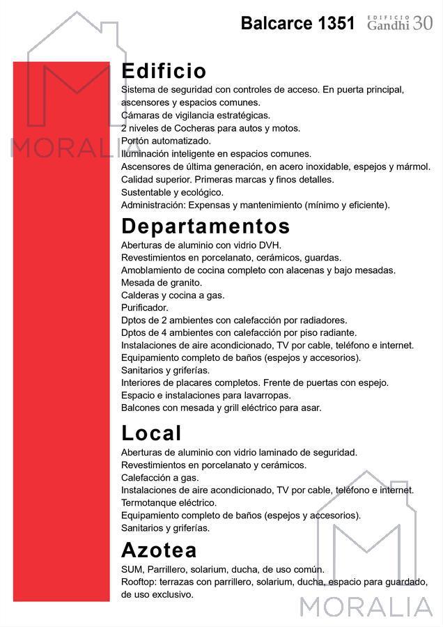 Foto Departamento en Venta en  Centro,  Rosario  Balcarce 1351 - 05 - 07 - 1 dormitorio