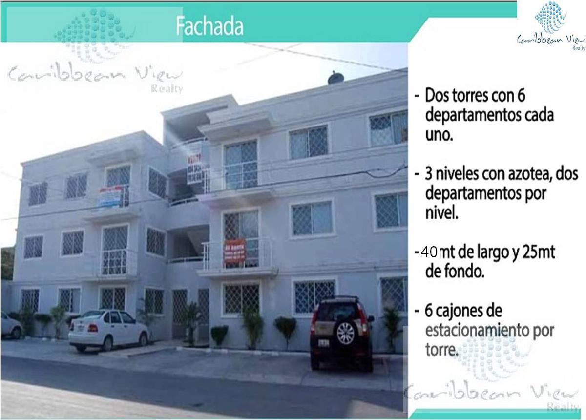 Foto Departamento en Venta en  Solidaridad ,  Quintana Roo  EDIFICIO EN VENTA CALLE al 100